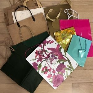 Handbags - Assorted gift bags